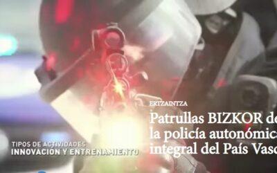 Nuevas patrullas BIZKOR de la Ertzaintza