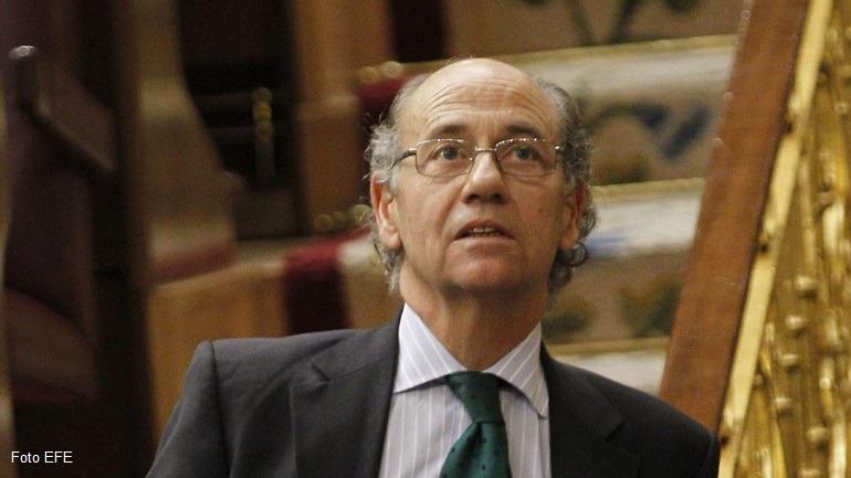 Teófilo de Luis Rodríguez_en el Congreso de los Diputados_Foto EFE