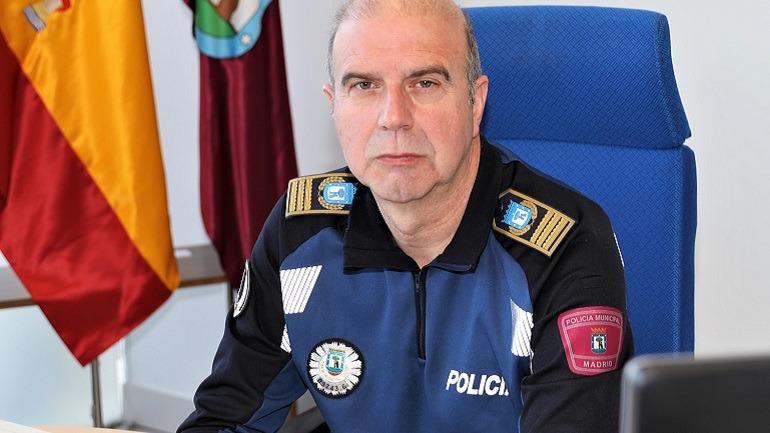 Teodoro Pérez, Comisario General de la Policía Municipal de Madrid