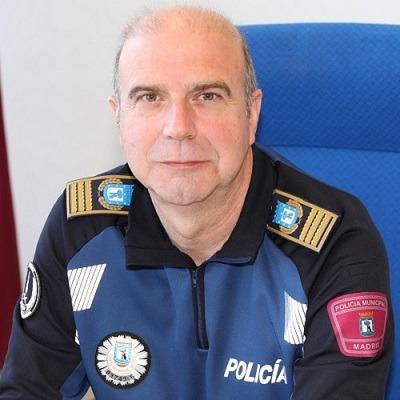 Teodoro Pérez, Comisario General Policía Municipal de Madrid