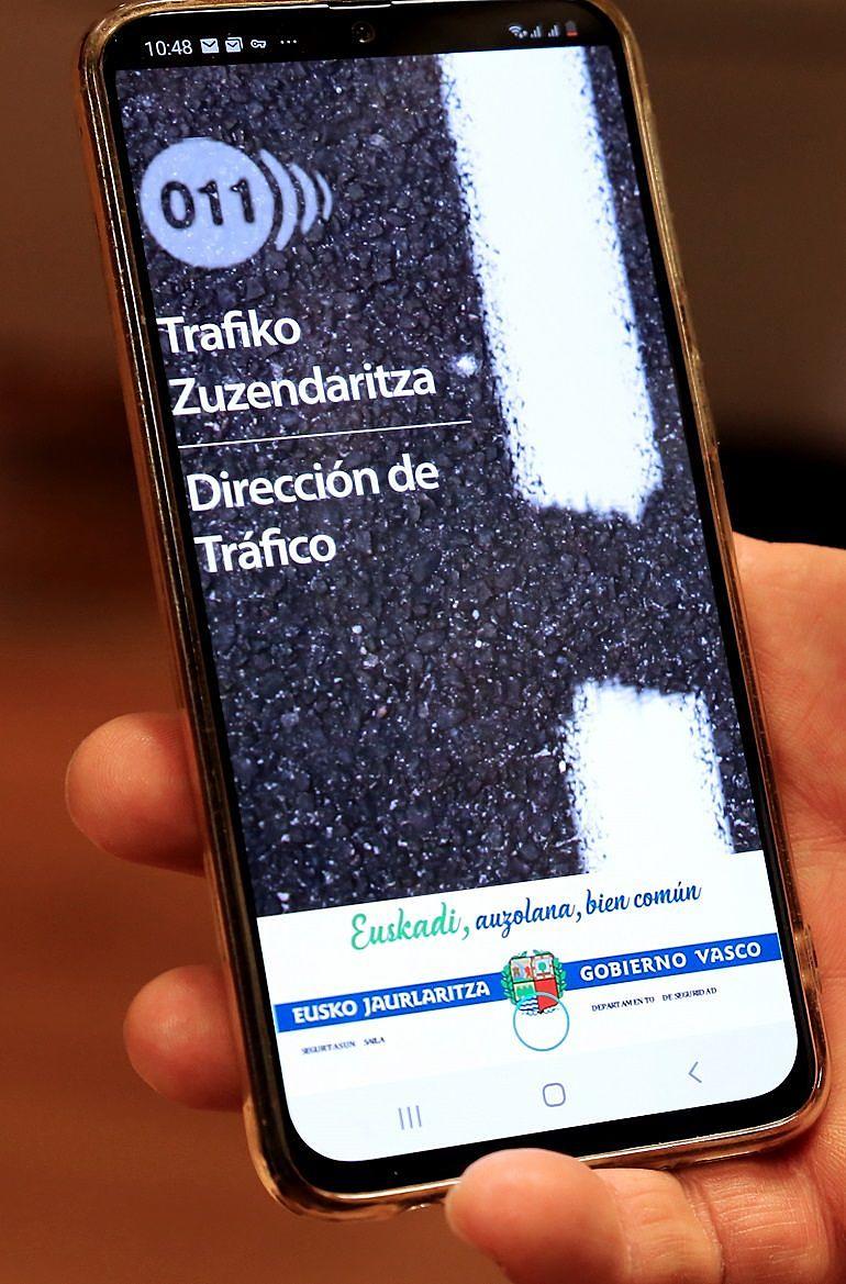 App, Dpto. de Tráfico del Gobierno VAsco_ Entrevista a Sonia Díaz de Corcuera