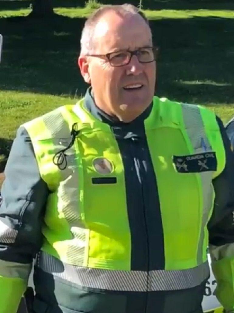 General de División de la Agrupación de Tráfico de la Guardia Civil, Ramón Rueda Ratón