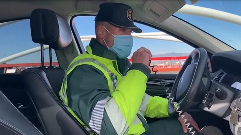 Agente de la Agrupación de Tráfico de la Guardia Civil