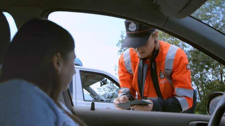 Agente de Tráfico. Entrevista a Josu Bujanda - Ertzaintza