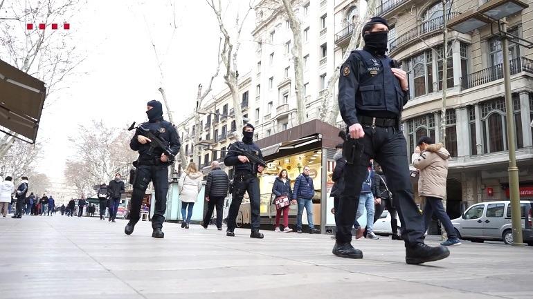 Vigilancia antiterrorista_La BRIMO de los Mossos d´Esquadra