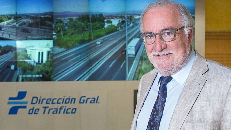 Pere Navarro Olivella, en la Dirección General de Tráfico