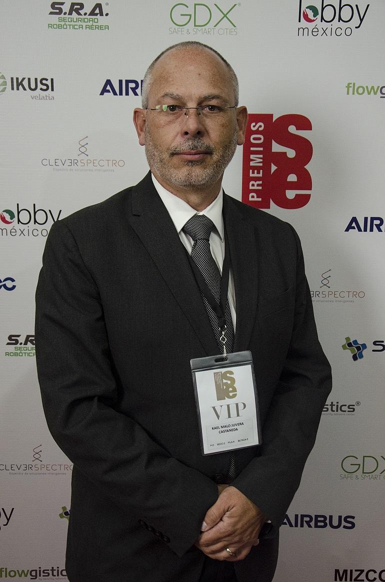 Kael Malo Juvera - GEMARC, en la Gala de entrega de los III Premios Nacionales de Seguridad y Emergencias