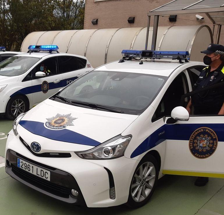 Entrevista a Asier Erkoreka - EUBE/AJEPLE. Coche patrulla Policía Local