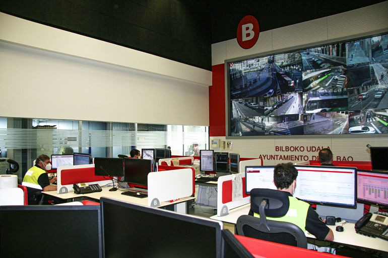 Entrevista Amaia Arregi - Centro Coordinador de la Policía Municipal de Bilbao