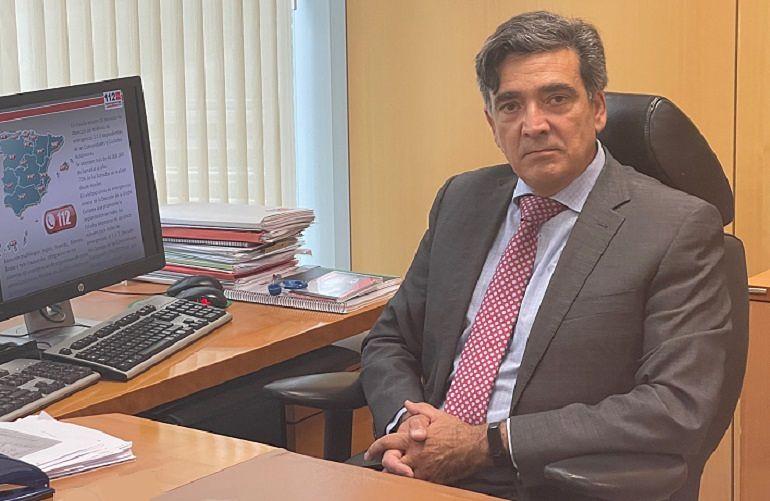 Alejandro Martínez, director del Servicio 112 de la Comunidad de Madrid